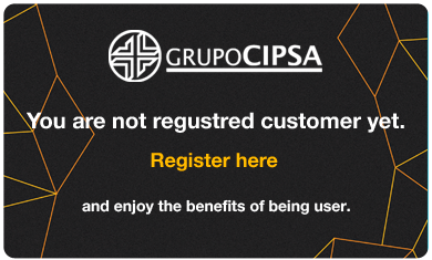 You are not a registered customer yet